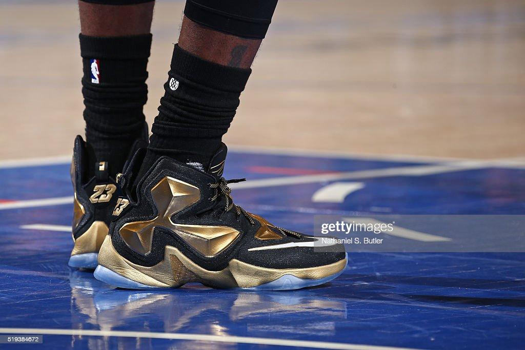lebron james knicks shoes - photo #19