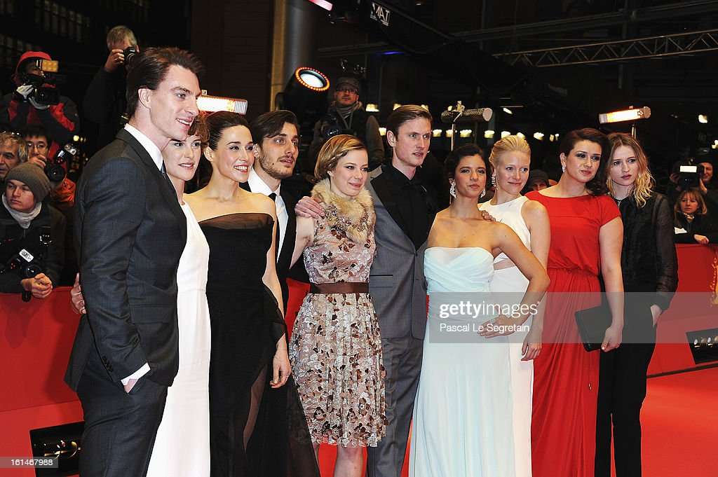 The shooting stars 2013 attend the 'Before Midnight' Premiere during the 63rd Berlinale International Film Festival at the Berlinale Palast on February 11, 2013 in Berlin, Germany.