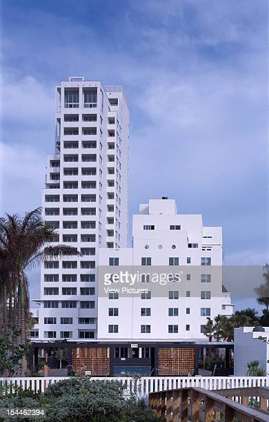 The Shore Club Miami United States Architect David Chipperfield The Shore Club View From Beach Perimeter With Pools