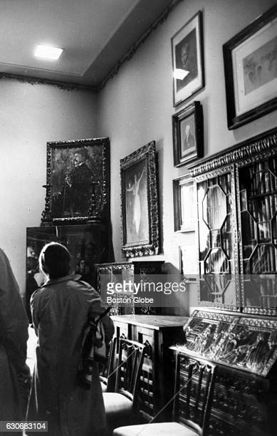 The Short Gallery at the Isabella Stewart Gardner Museum in Boston on Nov 14 1966