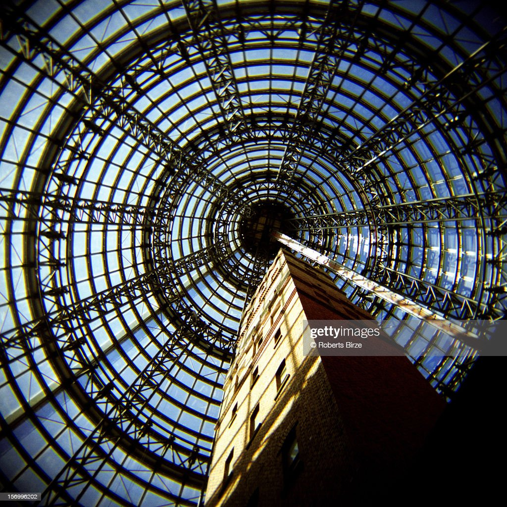 The Shot Tower, Melbourne Central : Stock Photo
