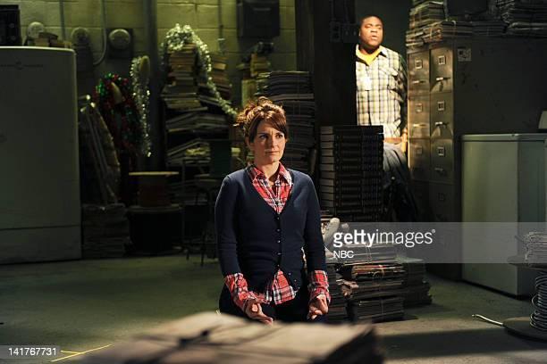 30 ROCK 'The Shower Principle' Episode 615 Pictured Tina Fey as Liz Lemon Tracy Morgan as Tracy Jordan