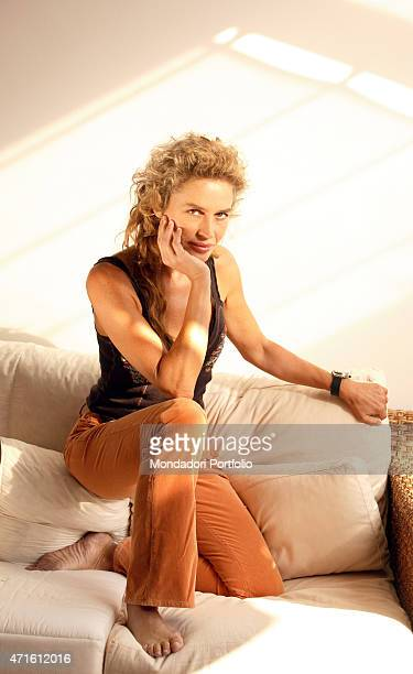 'The showgirl Lory Del Santo in a photo shooting Milan Italy 20th November 2005 '