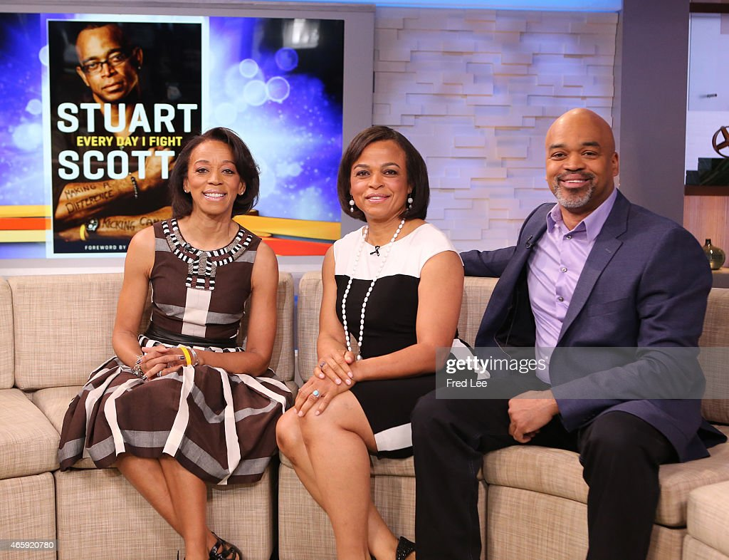 AMERICA The siblings of ESPN great Stuart Scott are guests on 'Good Morning America' 3/10/15 airing on the ABC Television Network