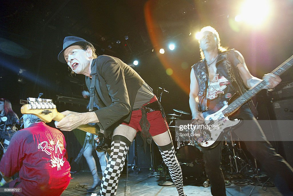 The Sic F*cks perform on stage during 'Life's A Gas' at The Annual Joey Ramone Birthday Bash on May 19, 2004 at Irving Plaza, in New York City.