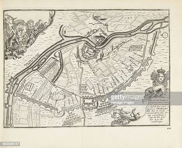 The Siege and Battle of Narva in 1700 1726 Found in the collection of Rijksmuseum Amsterdam Artist Aa Pieter van der