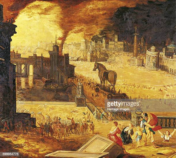 The Siege of Troy 17th century Found in the collection of Musée des BeauxArts Blois Artist Anonymous