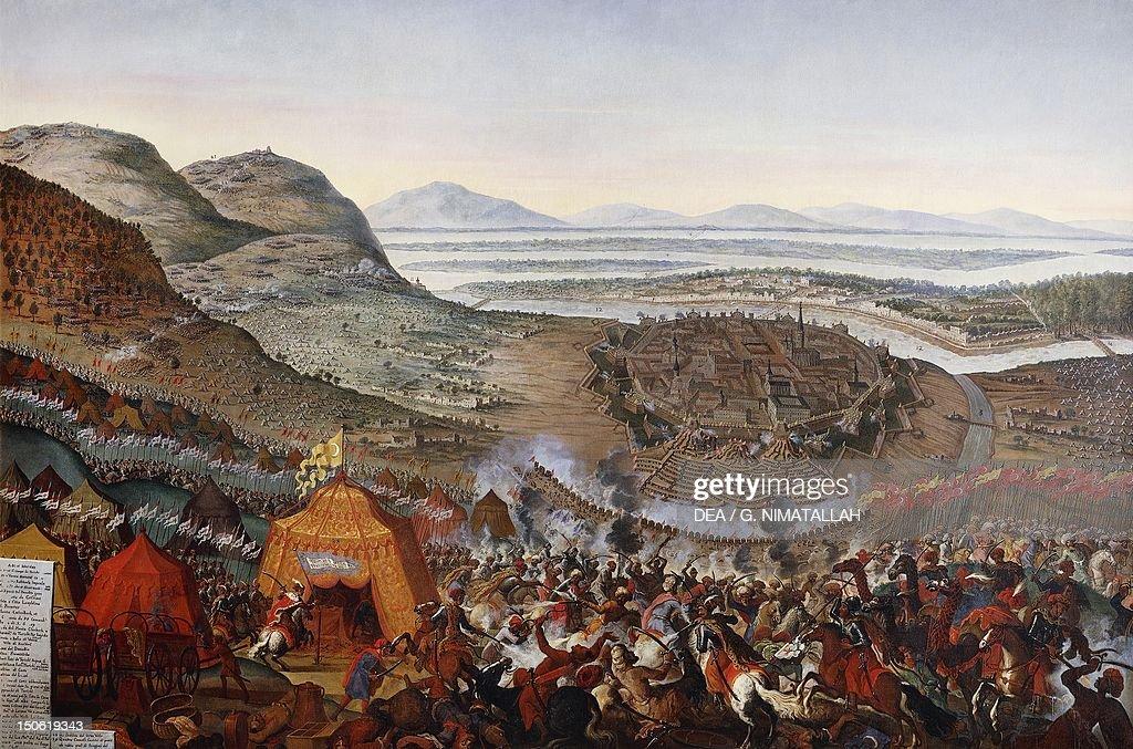 The siege of Vienna by the Ottoman Empire 1683 Austria 17th century