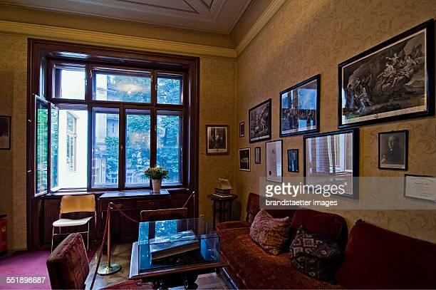 The Sigmund Freud Museum Vienna on Berggasse 19 Vienna 9 2009 Photograph by Urs Schweitzer