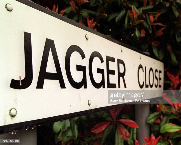 The Sign for Jagger Close in Dartford built in 1988 The street is named to commemorate the first meeting of Mick Jagger and Keith Richards of the...