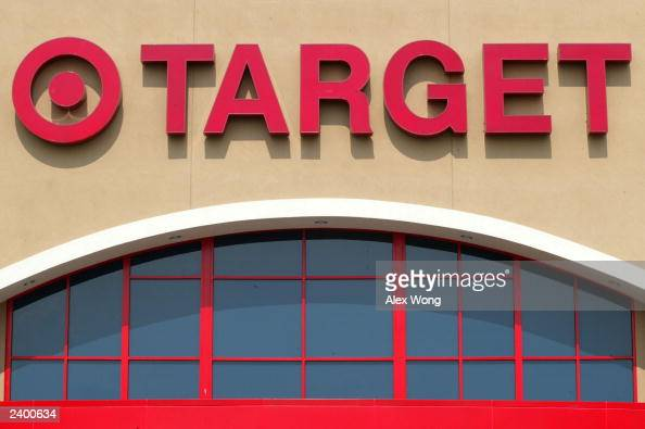 The sign of a Target store is displayed August 14 2003 in Springfield VA Target Corp reported a 4 percent increase in secondquarter profits