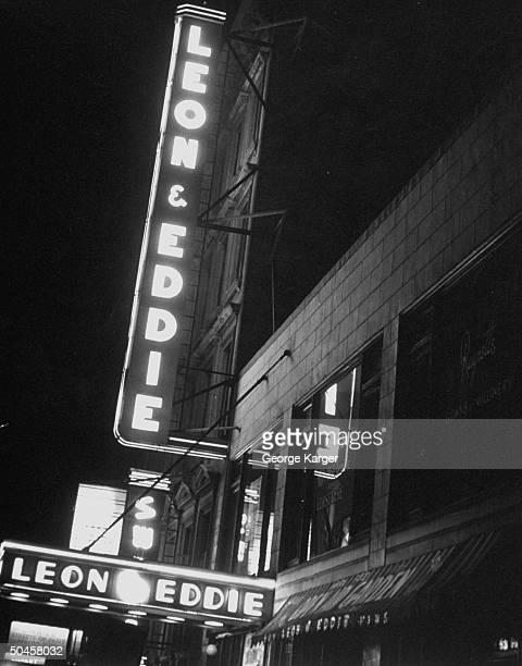 Leon And Eddie Photos et images de collection | Getty Images
