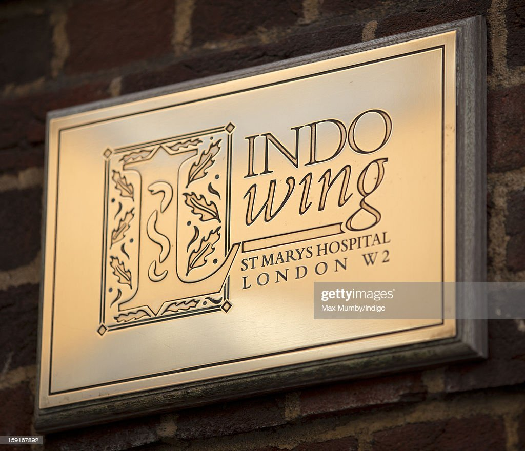 The sign outside The Lindo Wing, a private hospital located at St. Mary's Hospital, Paddington on January 08, 2013 in London, England. The Lindo Wing is the hospital in which Prince William, Duke of Cambridge and Prince Harry were born.