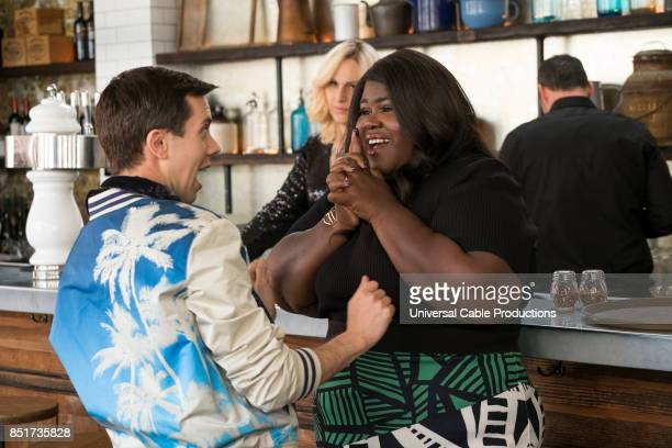 PEOPLE 'The Silkwood' Episode 310 Pictured Cole Escola as Matthew Gabourey Sidibe as Denise