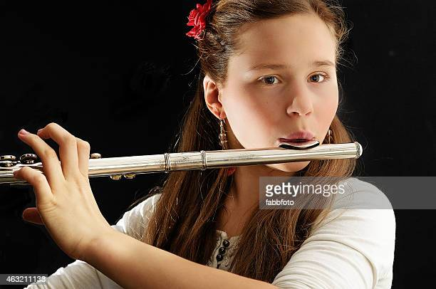 The silver shining flute