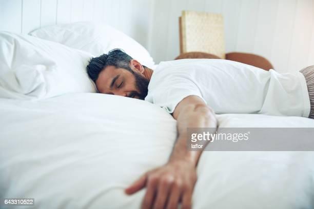 Das einfache Vergnügen des Schlafes