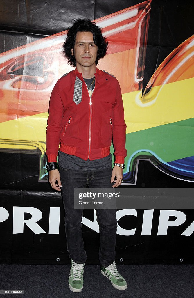 The singer Coti in the IV Festival Pop of the 'Cuarenta Principales', 4th April 2008, Leganes, Madrid, Spain.