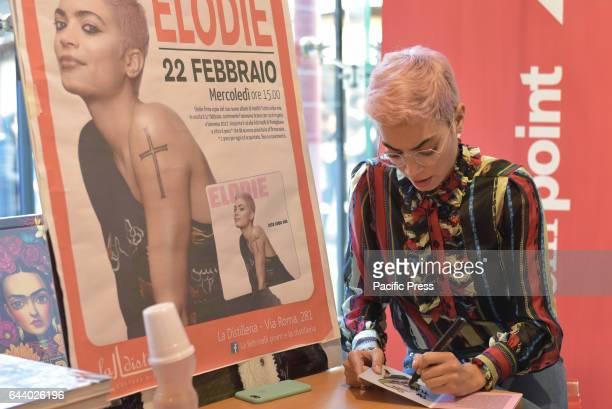 The singer Elodie met her fans at LaFeltrinelli bookshop Elodie the Italian singer presents album 'Tutta Colpa mia' met his fans at LaFeltrinelli...