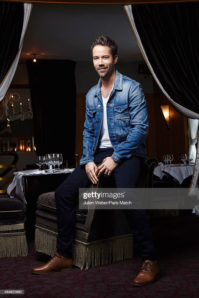 The singer <a gi-track='captionPersonalityLinkClicked' href=/galleries/search?phrase=Emmanuel+Moire&family=editorial&specificpeople=549823 ng-click='$event.stopPropagation()'>Emmanuel Moire</a> is photographed for Paris Match on September 3, 2015 in Paris, France.