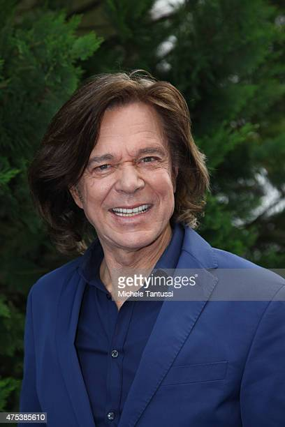 The singer Juergen Drews in during the season kick off of the tv show 'Immer wieder Sonntags' at Europapark on May 31 2015 in Rust Germany