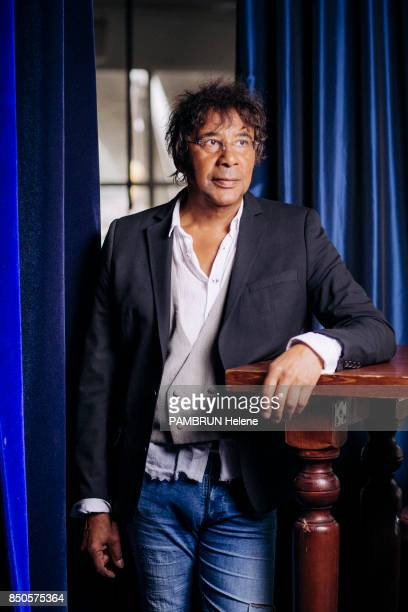 the singer Laurent Voulzy is photographed by Paris Match on august 30 2017 in Paris France