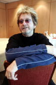 The singer of the rock group Yes Jon Anderson poses 01 June 2004 in his hotel on Helsinki on the eve of a concert in the Finnish capital AFP PHOTO /...