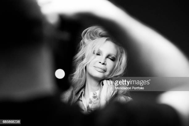 The singer Patty Pravo for a photo shooting Milan Italy 2nd January 2015