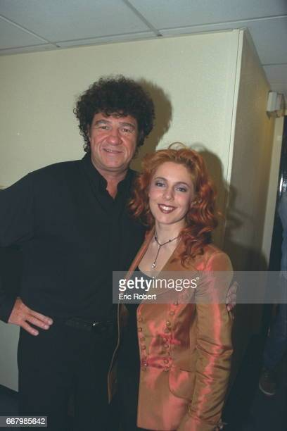 The singers from Quebec Robert Charlebois and Isabelle Boulay