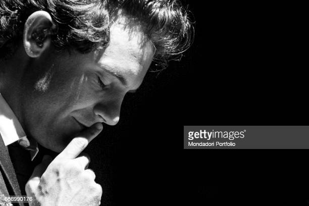 The singersongwriter and showman Mika closing the eyes Cernobbio Italy 4th August 2016