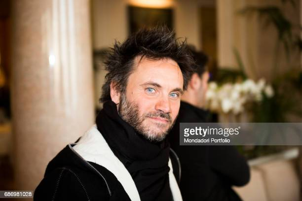 The singersongwriter Nek at the 65th Sanremo Music Festival Sanremo Italy 2015