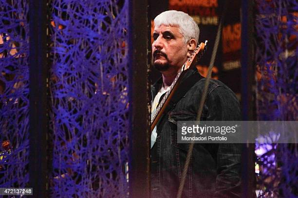 'The singersongwriter Pino Daniele at Music Summer Festival Rome Italy 27th June 2013 '