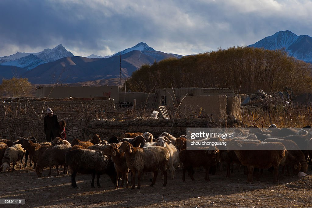 The Sinkiang's Pamirs Plateau Tajiks Nationality Autonomous County