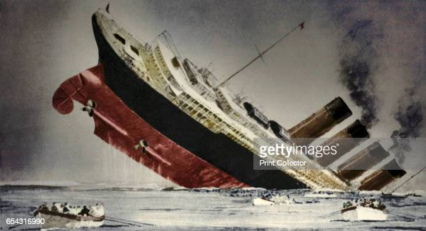 The sinking of the Lusitania 7 May 1915 A German submarine sank the Lusitania off the Irish coast Although unarmed she was carrying munitions 1198...