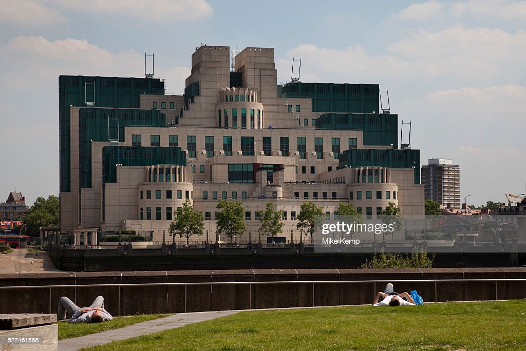 The SIS Building, also commonly known as the MI6 Building, is the headquarters of the British Secret Intelligence Service (otherwise known as 'MI6'). It is known within the intelligence community as Legoland and also as 'Babylon-on-Thames' due to its resemblance to an ancient Babylonian ziggurat. It is located at 85, Albert Embankment in the south western part of central London, on the bank of the River Thames
