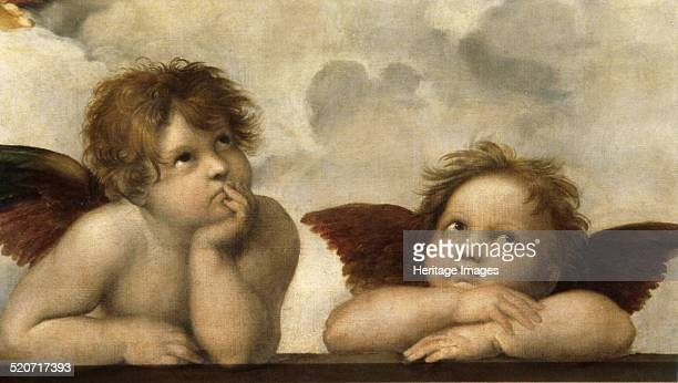 The Sistine Madonna Found in the collection of Dresden State Art Collections