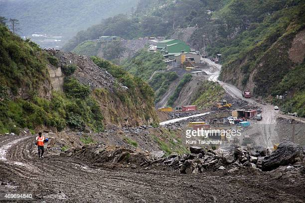 The site of PunatsangchhuI Hydroelectric Project in Bhutan on September 4 2013 The project which will have a capacity of 1200 MW is the first of a...