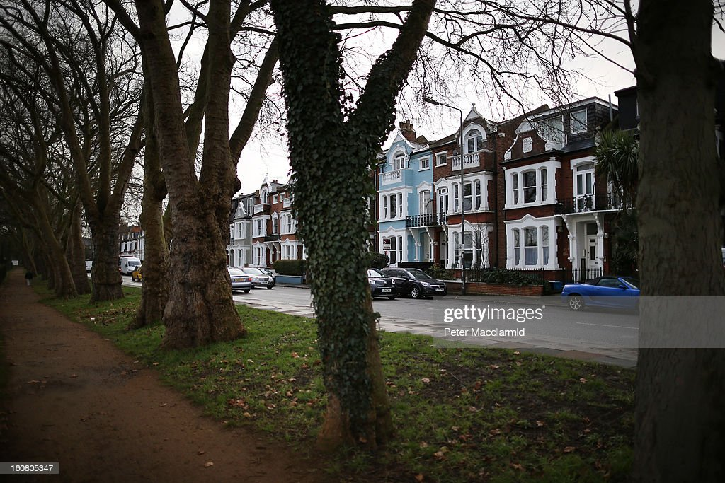 The site of the former Elm Guest House in Barnes on February 6, 2013 in London, England. Two men have been arrested in connection with child abuse allegations relating to a guest house in south London during the 1980s.