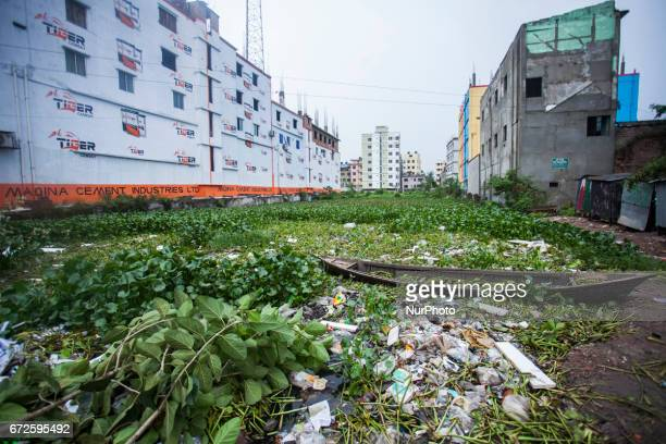 The site where the building once stood in Savar on the outskirts of Dhaka on April 24 2017 Thousands of Bangladeshi garment workers staged a tearful...
