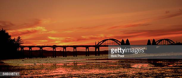 The Siuslaw River Bridge, Florence, OR
