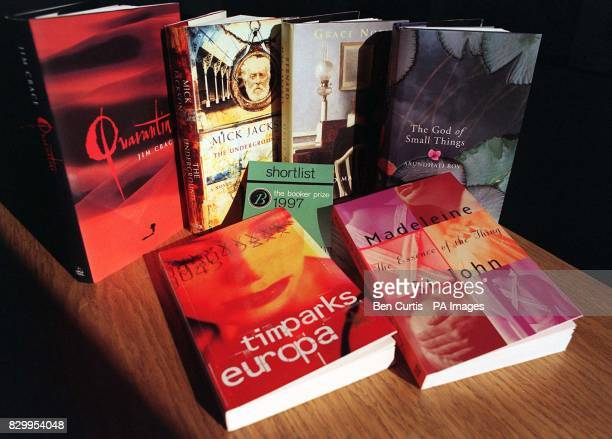 The six books shortlisted for the 20000 1997 Booker Prize Quarantine by Jim Crace The Underground by Mick Jackson Grace Notes by Bernard MacLaverty...