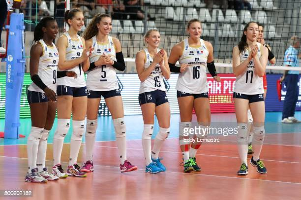 The Six starter Odette Ndoye of France Silvana Dascalu of France Pauline Martin of France Oriane Amalric of France Juliette Fidon of France and...
