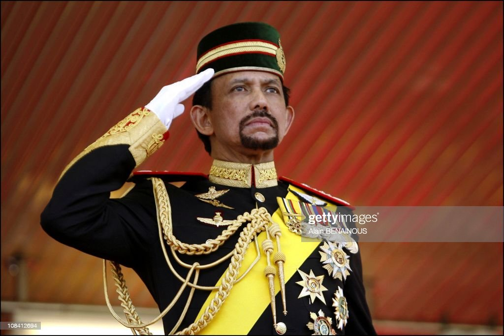 The Sixtieth Birthday Celebration of Sultan of Brunei, Hassanal Bolkiah and his new wife, queen Azrina in Brunei Darussalam on July 15, 2006.