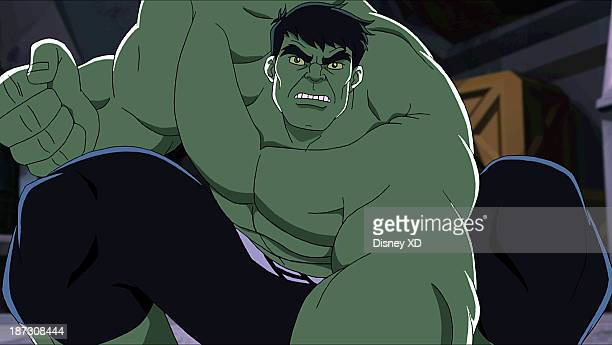 S HULK AND THE AGENTS OF SMASH 'The Skaar Whisperer' Skaar gets a lesson in civility from Doc Sampson while the Hulks battle Absorbing Man who takes...
