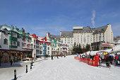 The ski resort of Mont Tremblant