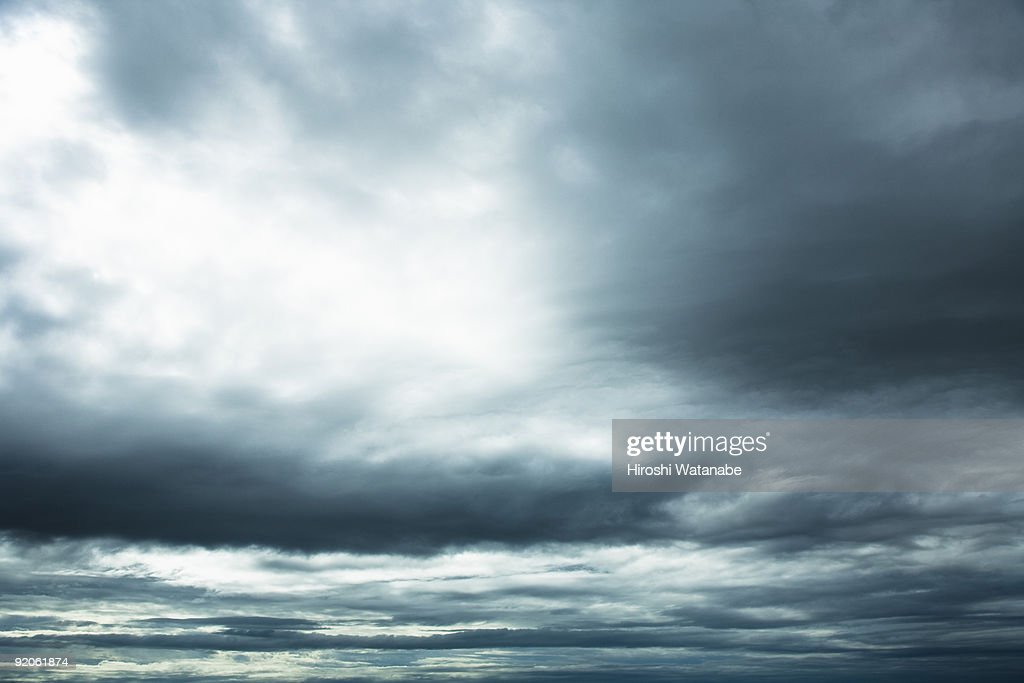 The sky before storm comes : Stock Photo