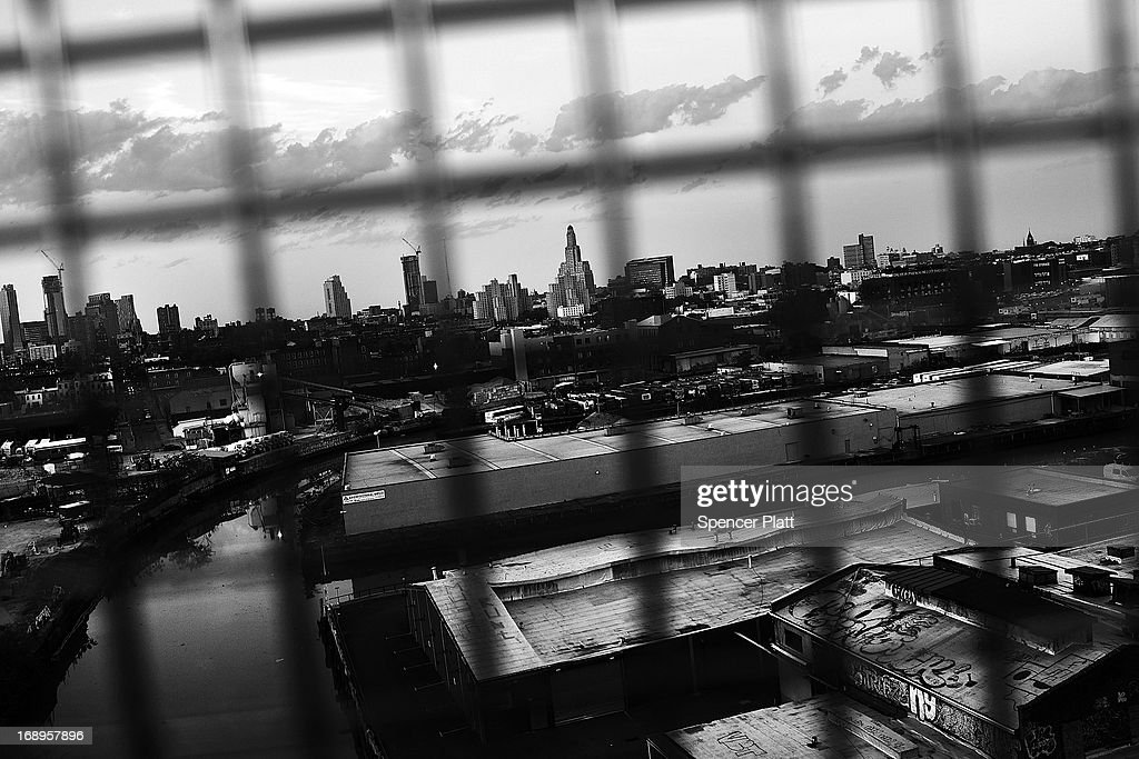 The skyline is seen on May 16, 2013 in Brooklyn borough of New York City. Following the recent clearing of David Ranta of murder after serving a 23-year prison sentence, the Brooklyn, N.Y. District Attorney is reviewing 50 murder cases investigated by celebrated Detective Louis Scarcella. Many of Scarcella's cases depended on the testimony of a single witness, a drug addict named Teresa Gomez. The review of cases will give special scrutiny to those cases which appear weakest. Scarcella, 61 and now retired, denies ever having used unethical tactics to secure a conviction.
