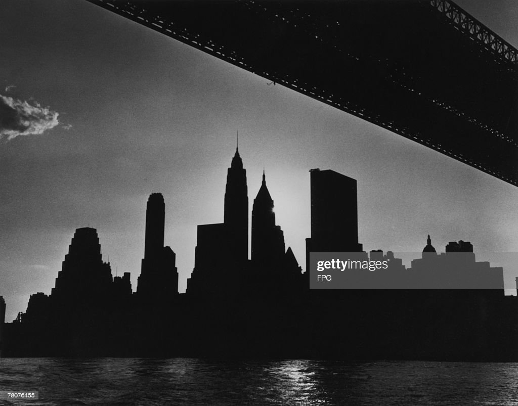 The skyscrapers of New York are unlit after faulty maintenance in Ontario caused disruption of the electricity supply in the region and led to the Northeast Blackout of 9th November 1965.