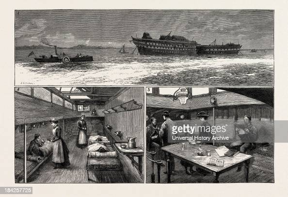 The Smallpox Epidemic And The Metropolitan Asylums Board The 'Red Cross' New Ambulance Steamer 1 The 'Red Cross' Carrying Patients To The Hospital...