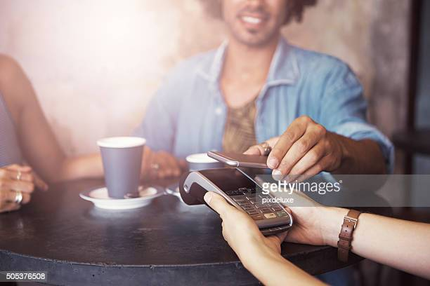 The smarter way to pay for your coffee