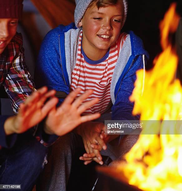 Der Duft von einem Lagerfeuer